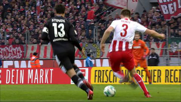 1. FC Köln - Borussia Mönchengladbach 1. - 45. (2017-2018)