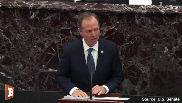 Adam Schiff Refers to Russia over 30 Times During Senate Impeachment Hearing