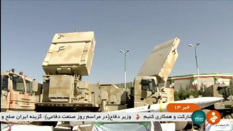 Irán exhibe sistema de defensa antiaérea de fabricación propia