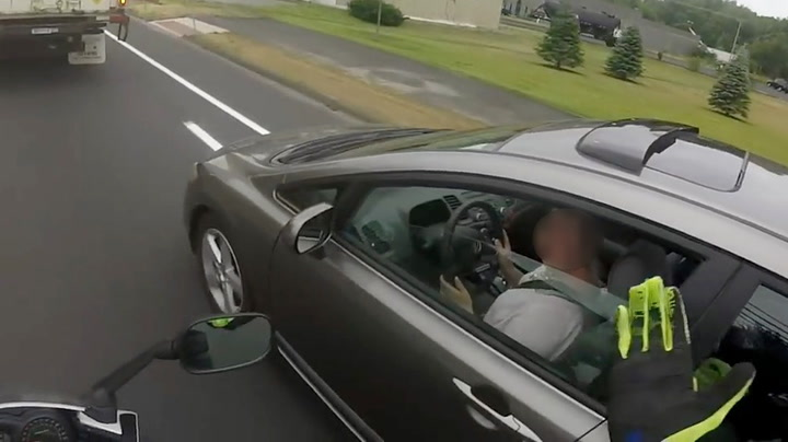 Kvinnelig bilist terget på seg feil fyr