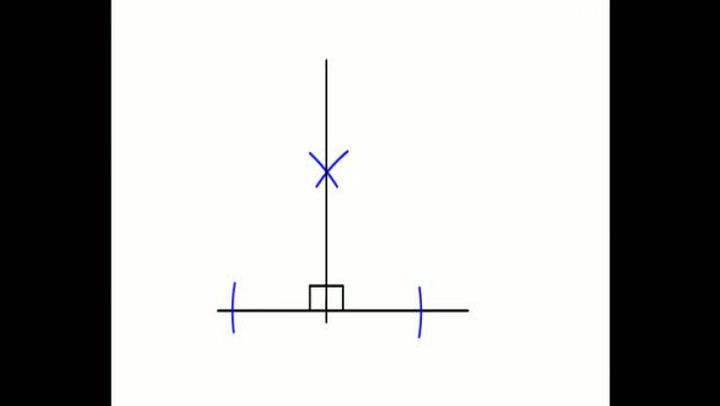 Matte: Hvordan konstruere en 90-graders vinkel