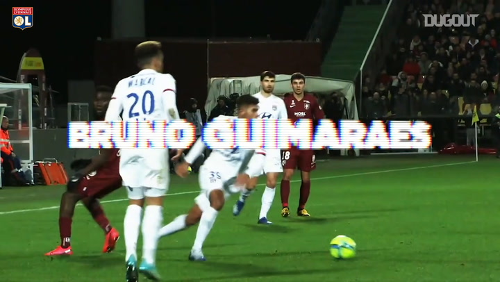 Best of Bruno Guimaraes in 2020-21 so far