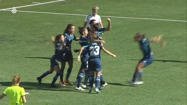 El Espanyol femenino vence 17 meses después en La Liga