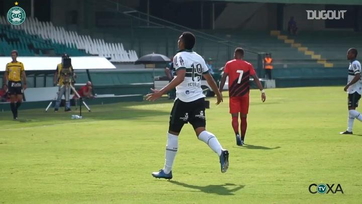 Coritiba hit four past Atlhetico-PR at Couto Pereira behind closed doors