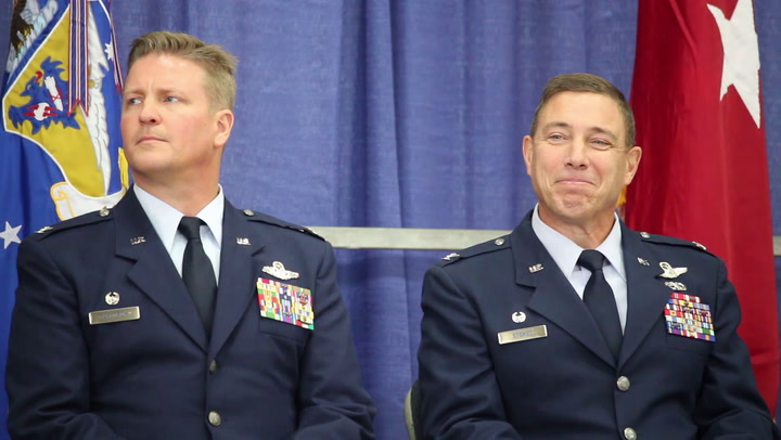 148th Fighter Wing Change of Command Ceremony