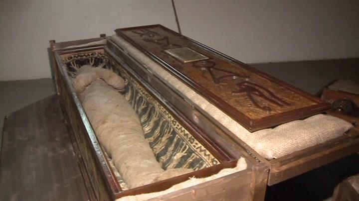 Fant mumie på loftet