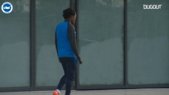 Percy Tau joins training after Anderlecht loan