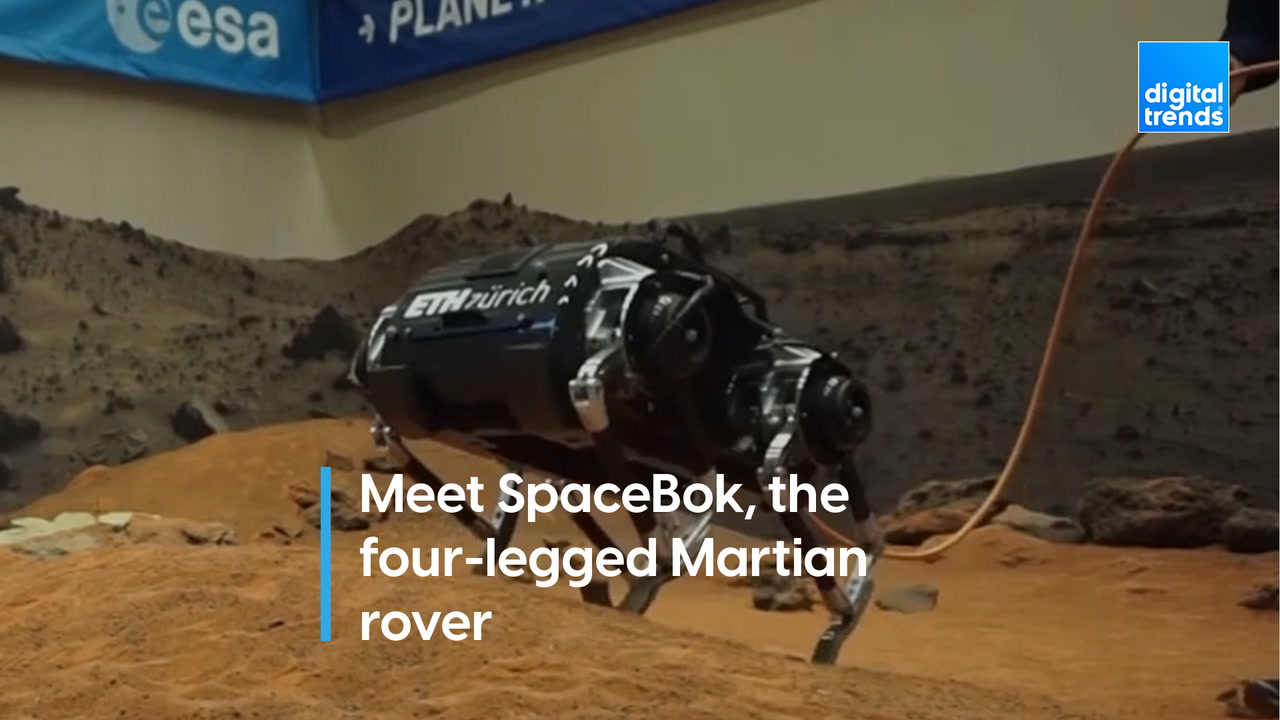 SpaceBok wants to go to Mars