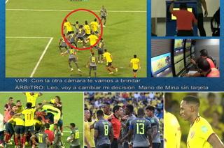 Lo que todos querían escuchar: así anuló el VAR el gol de Yerry Mina en los minutos finales del Colombia-Ecuador