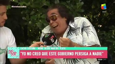 Cacho Castaña derrapó con una frase y desató una ola de críticas