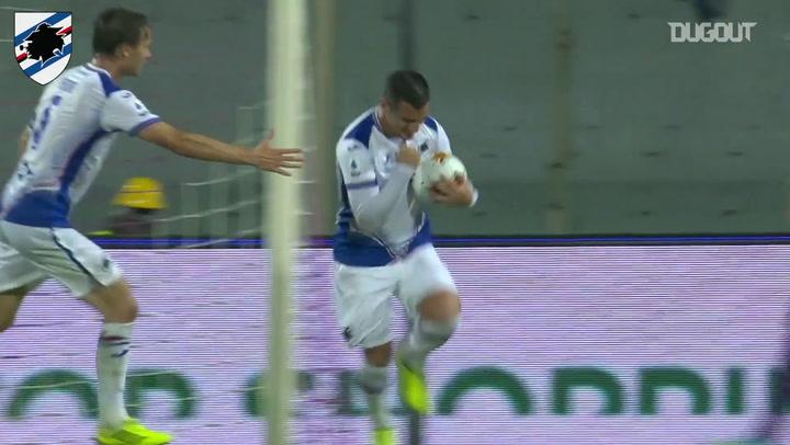 Primeiro gol de Federico Bonazzoli no Campeonato Italiano