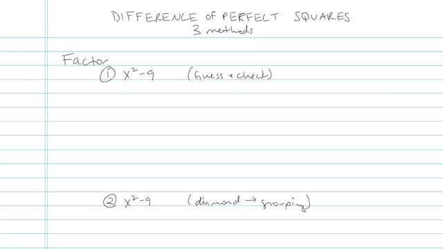 Difference of Perfect Squares - Problem 6