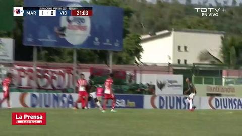 Marathón 1 - 0 Vida (Torneo Apertura 2021)