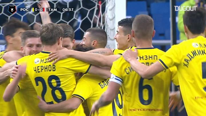 Björn Sigurdarson expertly dispatches team goal vs FC Tambov