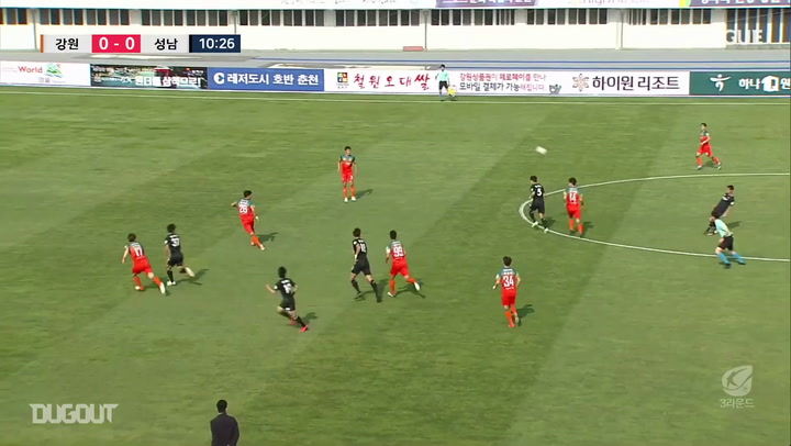 Gangwon 1-1 Seongnam: Enthralling contest ends all square