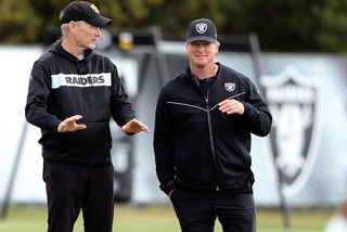 Gruden says Raiders improved supporting cast should help Carr this season