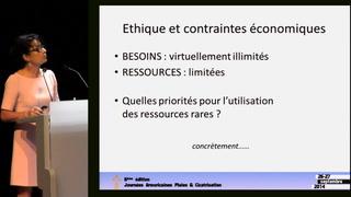 Ethique et contraintes économiques
