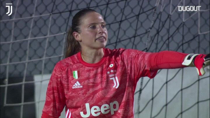 Laura Giuliani's best saves for Juventus Women