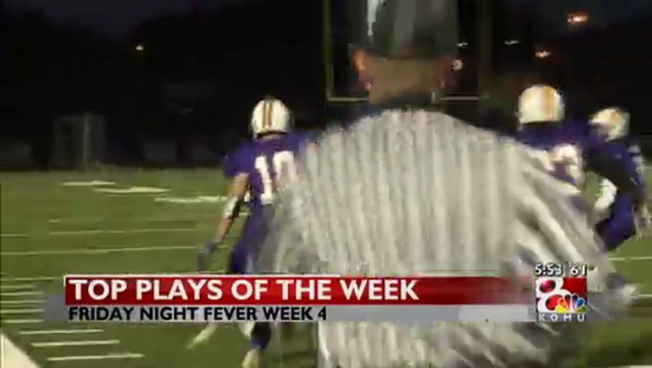 Week four Friday Night Fever plays of the week
