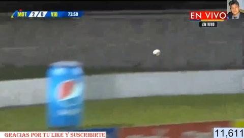 Denil Maldonado anota el 2-0 para Motagua ante el vida