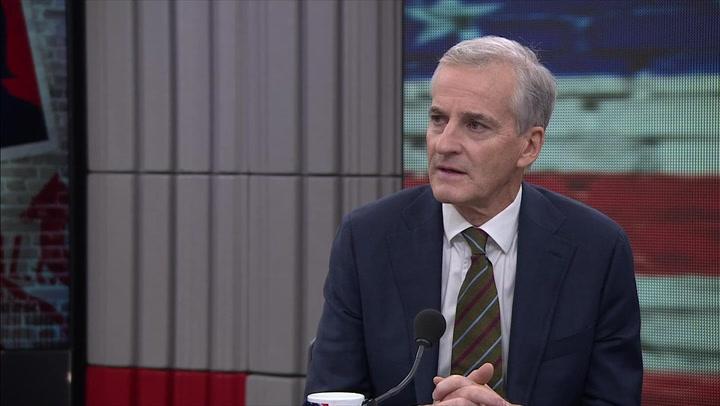 Jonas Gahr Støre om valget i USA