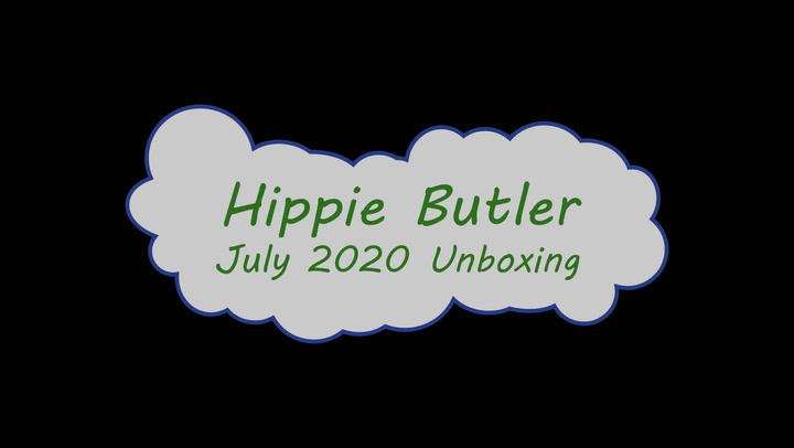 July 2020 Hippie Butler Box Unboxing