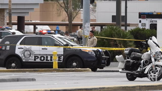 Metro briefs media on OIS near downtown Las Vegas
