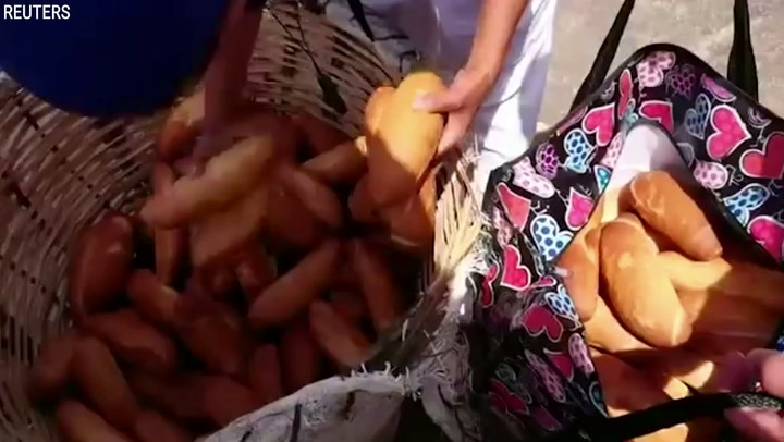 Moroccan Mom Starts Street Food Business On Her Bike   A Plus Video