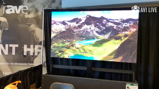 AVI LIVE: Absen Shows 1.5mm Acclaim Video Wall in a 3×3 Configuration