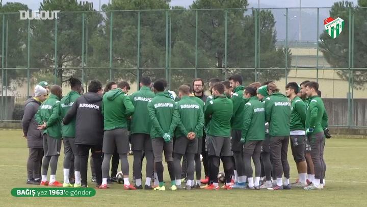 Bursaspor, Eskişehirspor'a Hazırlanıyor