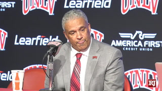 Menzies, players talk about loss to Utah State