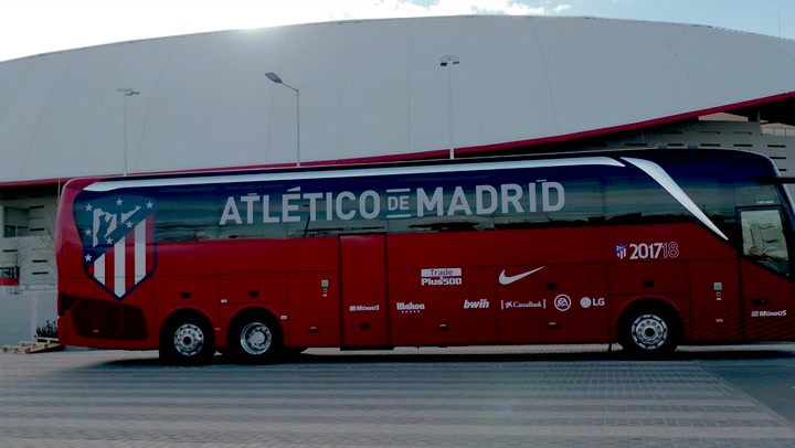 Check Out The Team's Official Bus!