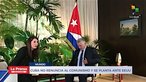 Cuba no renuncia al comunismo y se planta ante EEUU