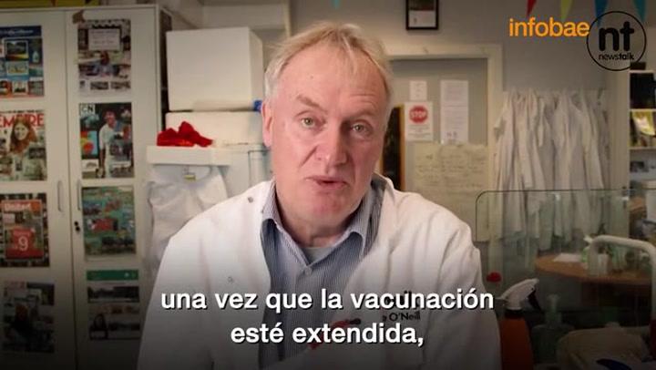 La esperanzadora revelación de un científico irlandés acerca del final de la pandemia