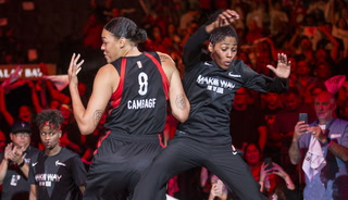 Las Vegas Aces Rise to Game 3 Against Washington Mystics, 92-75