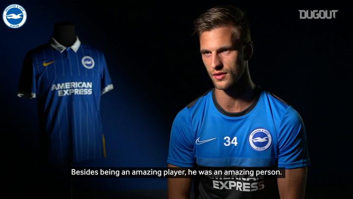 New Brighton signing Joel Veltman dedicates shirt number to Abdelhak Nouri