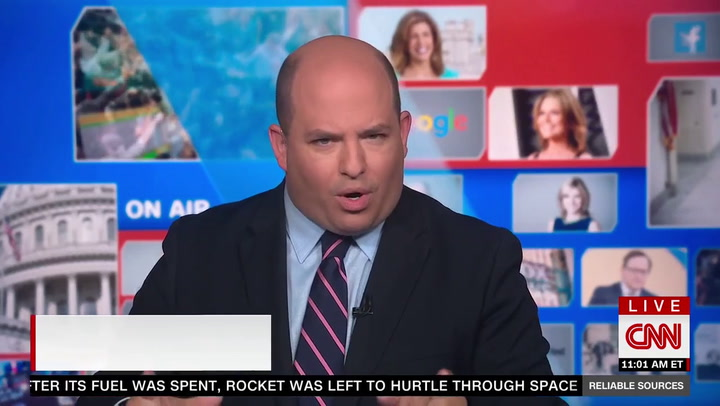 CNN's Stelter: Tucker Carlson Is 'Scaring His Audience So Recklessly' on Vaccines