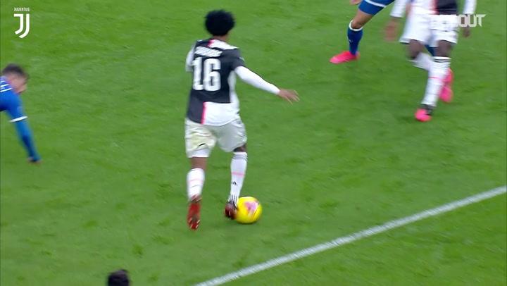 Melhores momentos de Cuadrado pela Juventus