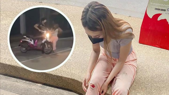 รถถูกขโมยไป 2 วัน จู่ๆ มาโผล่หน้าเซเว่น สาวใจเด็ดเผยนาทีลากคอโจร