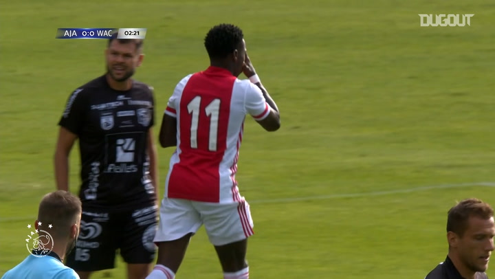 Quincy Promes nets in Ajax win over Wolfsberger