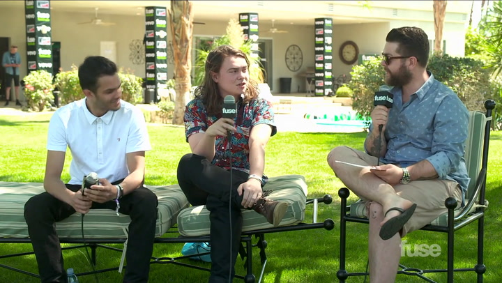 Coachella 2014: Bombay Bicycle Club Go Bollywood at Coachella, Sort Of