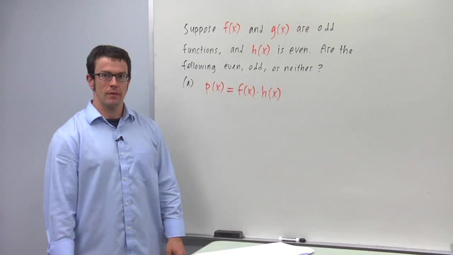 Symmetry of Graphs: Odd and Even Functions - Problem 3