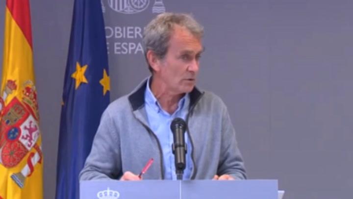 Simón dice que no le constan datos falsos en Madrid