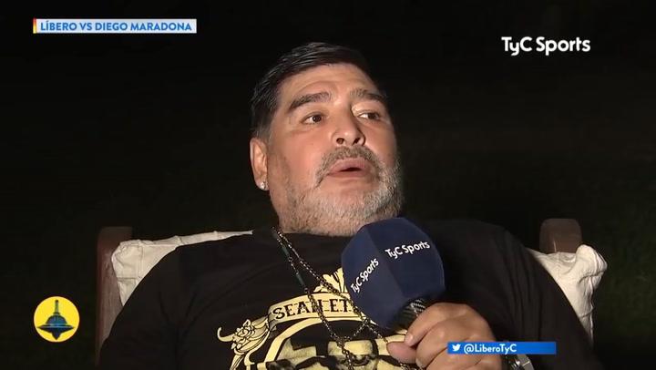 Maradona desvela cómo perdió la virginidad a los 13 años