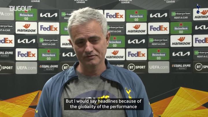 Jose Mourinho praises Dele Alli's all-around performance