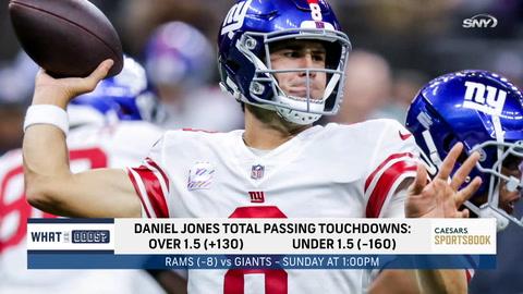 Can Daniel Jones, Giants surprise Rams as decided underdogs?