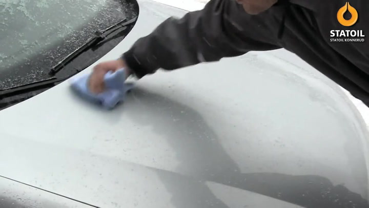 Bilpleie: Hvordan polere bil om vinteren