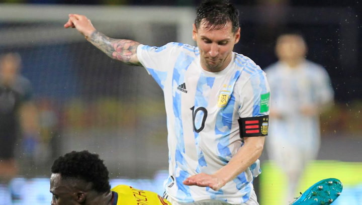 Messi, el delantero que más balones recupera en las Eliminatorias