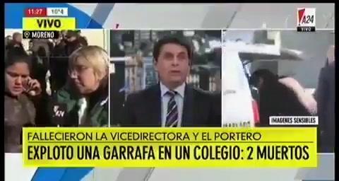 Se conocieron detalles de la explosión en la escuela de Moreno: habló el gasista