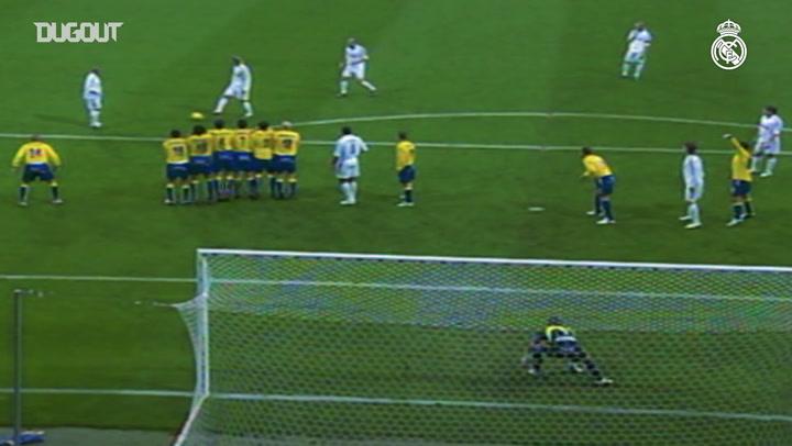 Free Kicks: David Beckham VS Cadiz